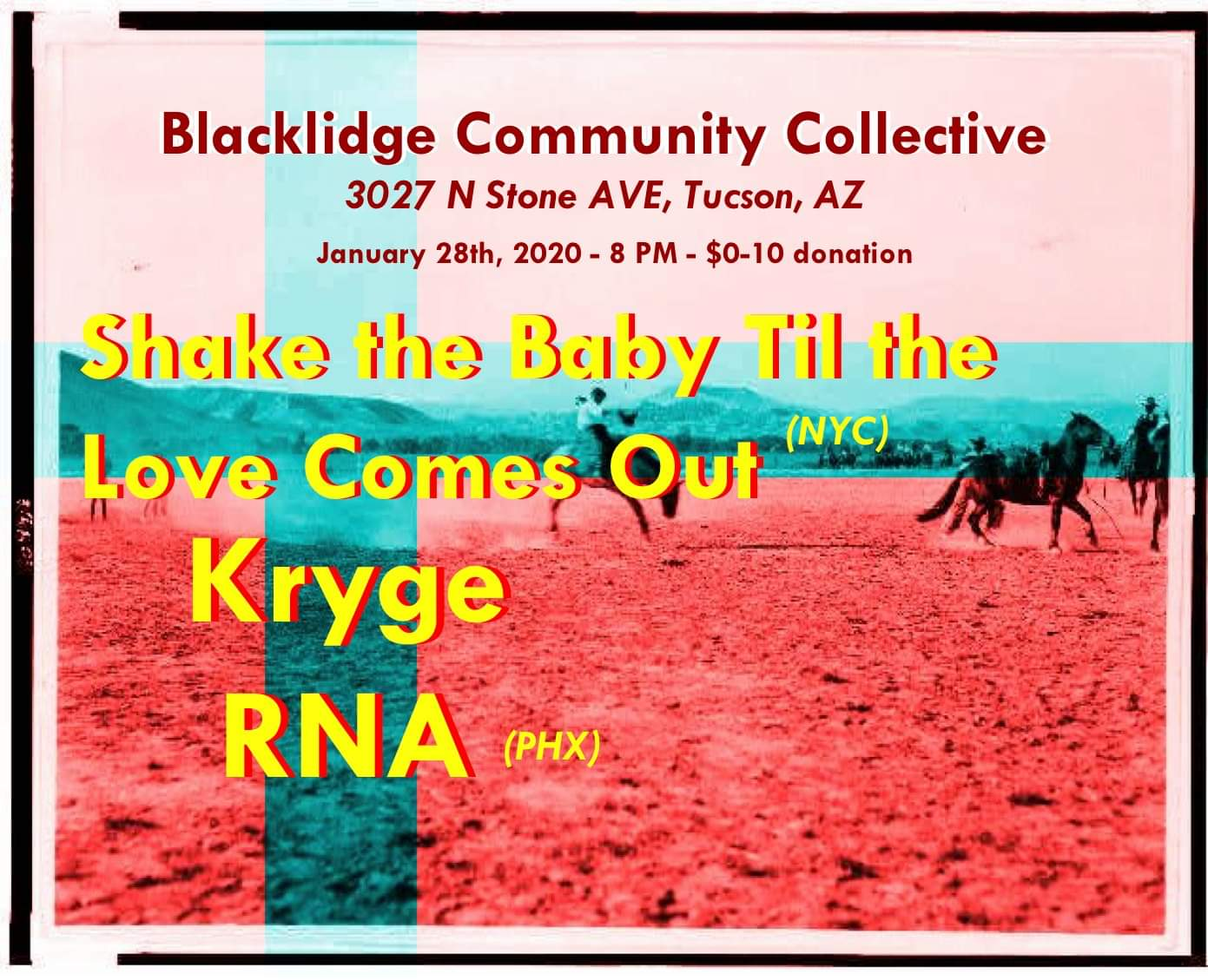 Shake the Baby Till the Love Comes Out, Kygre and RNA