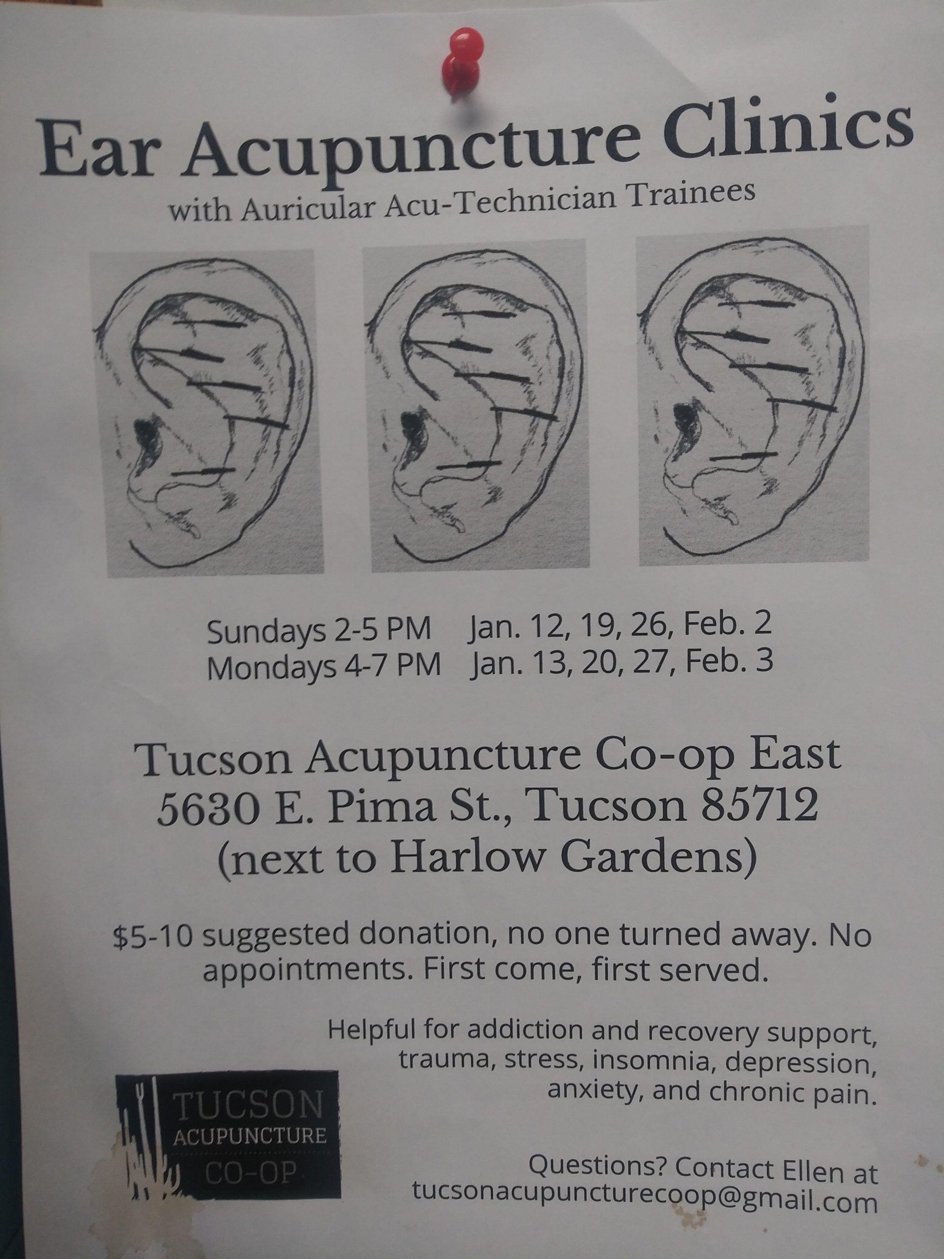 Ear Acupuncture Clinic