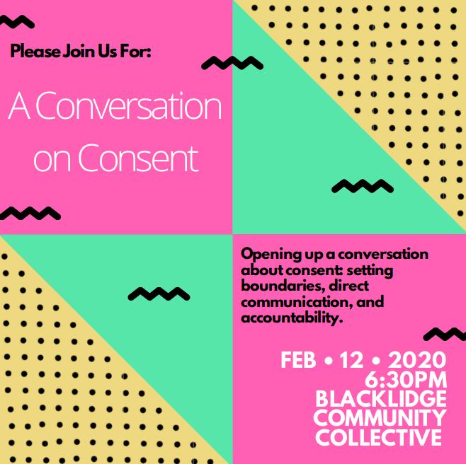 A Conversation on Consent.