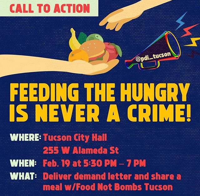 Call to Action: Feeding the Hungry is Never a Crime!