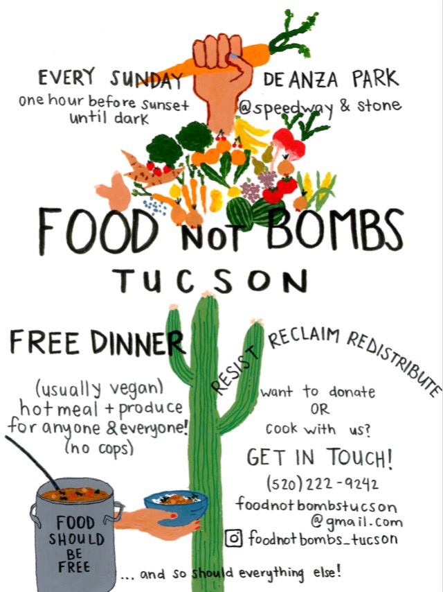 Food Not Bombs: Free Dinner